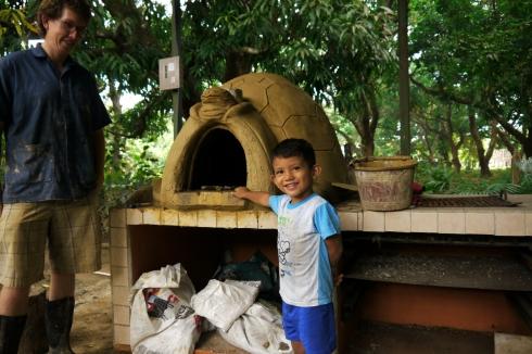 Horno de barro Costa Rica
