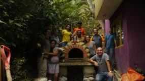 El grupo nuevamente el segundo día del taller