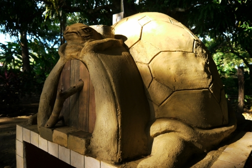 El horno de la tortuga en Lepanto