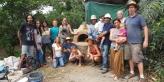 Taller de construcción de hornos de barro Costa Rica