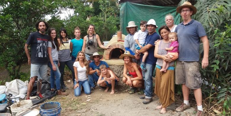 Cursos construcción natural Costa Rica